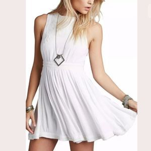Free People Birds of a Feather White Dress